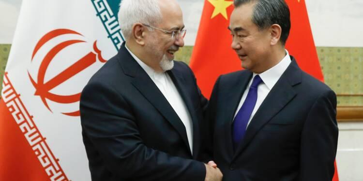 L'Iranien Zarif entame en Chine sa tournée pour sauver l'accord nucléaire