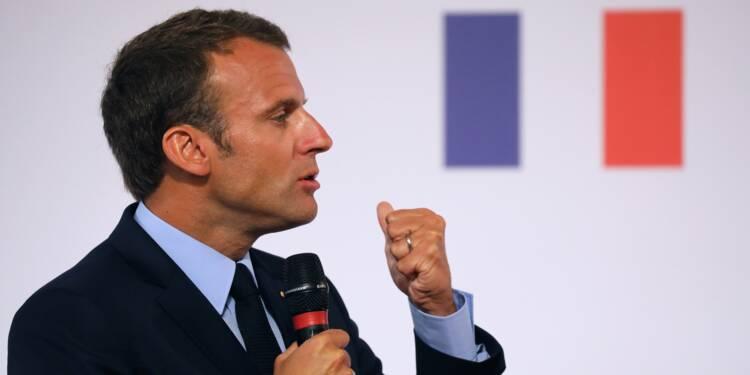 Emmanuel Macron ou le credo de l'entreprise