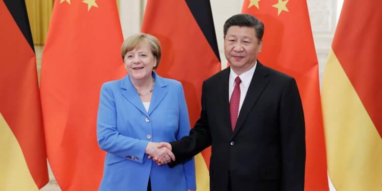 Merkel à Pékin: Allemagne et Chine défendent le libre-échange