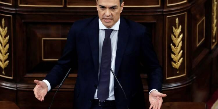 Espagne: le socialiste Sanchez nouveau chef du gouvernement