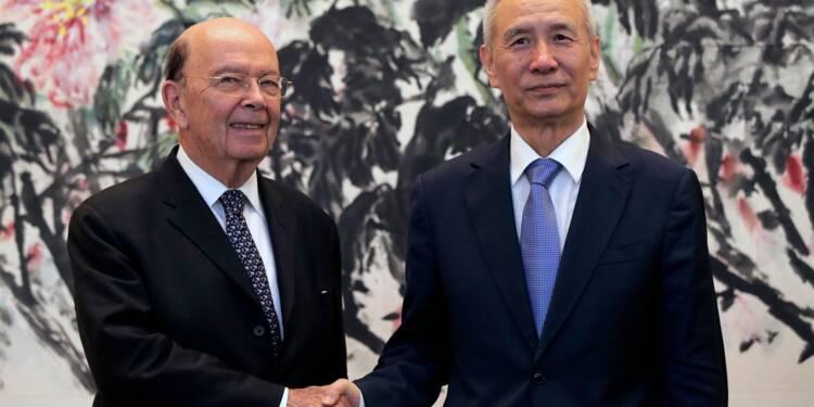 Commerce: les fruits de négociations Etats-Unis-Chine annulés en cas de sanctions américaines