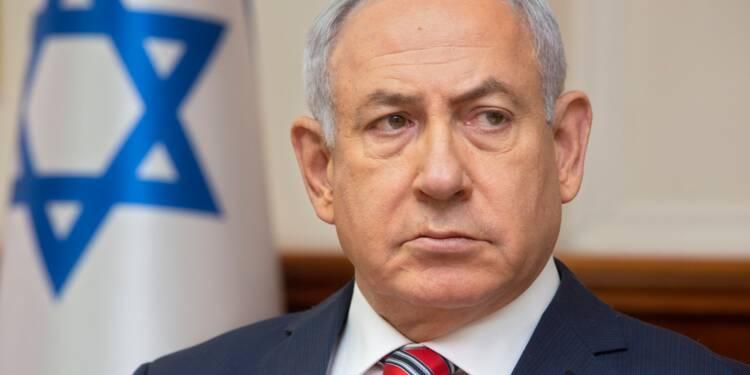 Iran: Netanyahu met Merkel en garde contre un nouvel afflux de réfugiés syriens