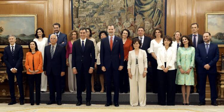 Espagne : le gouvernement le plus féminin de l'histoire du pays a prêté serment