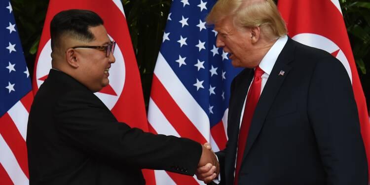 """Kim invite Trump à Pyongyang, """"catastrophe nucléaire"""" évitée selon Trump"""