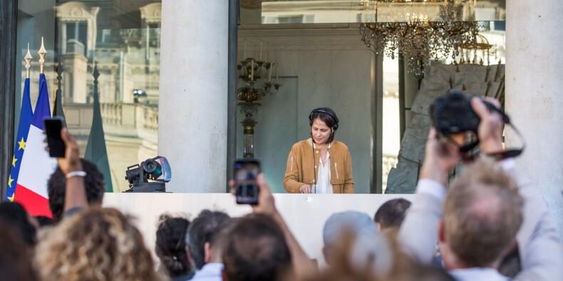 DJ et danseuses, en attendant Macron: l'étonnante fête de la musique à l'Elysée