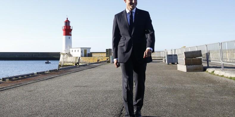 """Macron courtise les Bretons et leur """"esprit de conquête"""""""