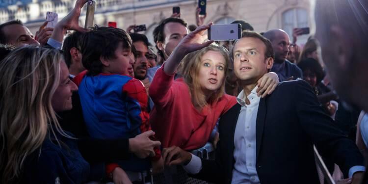 Des DJ, des danseuses et Macron: l'étonnante fête de la musique à l'Elysée