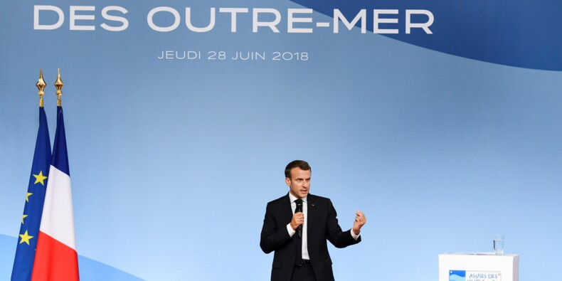 Macron dévoile ses priorités pour les Outre-mer