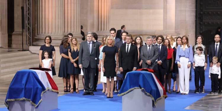"""Simone Veil accueillie dans l'émotion au Panthéon parmi """"les héros français"""""""