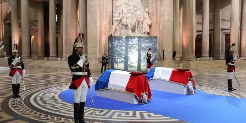 """Simone Veil au Panthéon: une """"décision de tous les Français"""" pour Macron"""