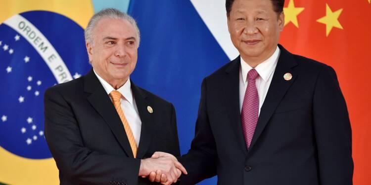 La Chine à la conquête de nouveaux marchés au Brésil