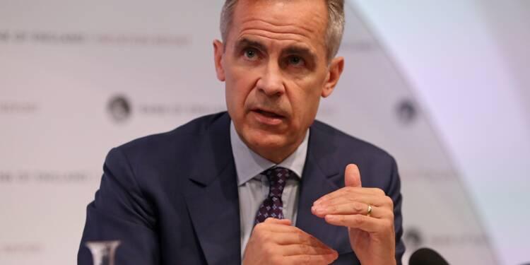 Brexit: risque élevé d'une absence d'accord, selon la Banque d'Angleterre