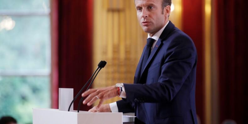 """Syrie: le maintien d'Assad serait une """"erreur funeste"""", selon Macron"""
