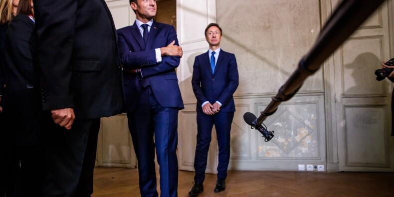 Patrimoine: Macron félicite Stéphane Bern, rasséréné après son coup de colère