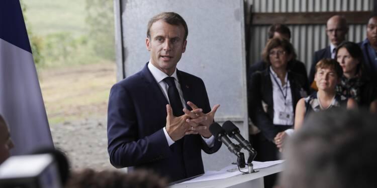 Après la Martinique, Macron attendu sur les sargasses en Guadeloupe