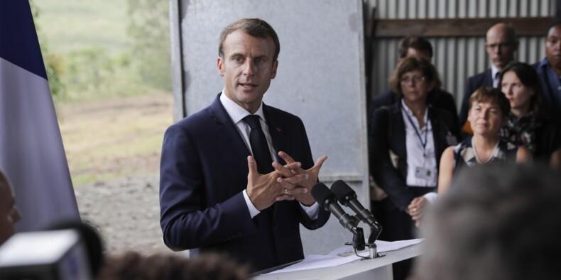 Après la Martinique, Macron arrive en Guadeloupe pour évoquer les sargasses