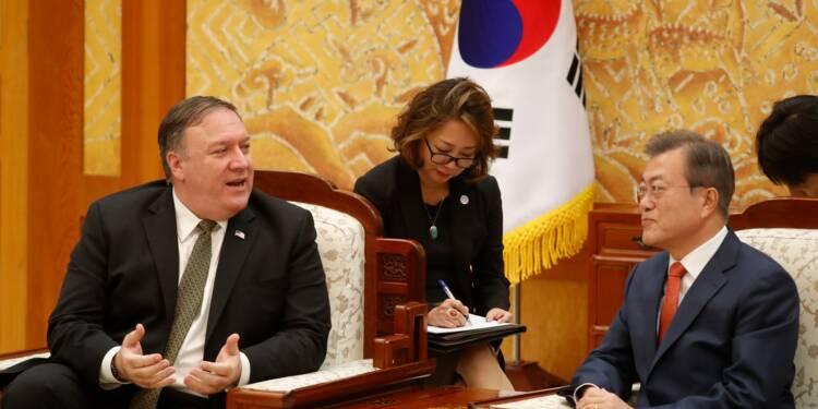 """Accord pour un sommet entre Trump et Kim """"le plus tôt possible"""", assure Séoul"""