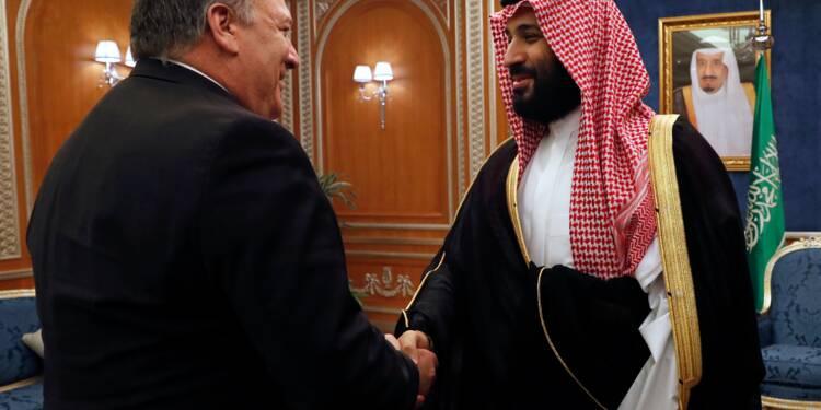 Khashoggi: Ryad déterminé à établir les responsabilités, assure Pompeo