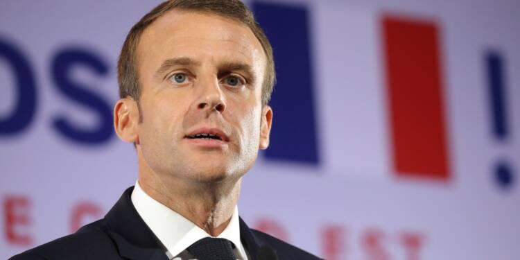 """Macron propose """"une vraie armée européenne"""""""
