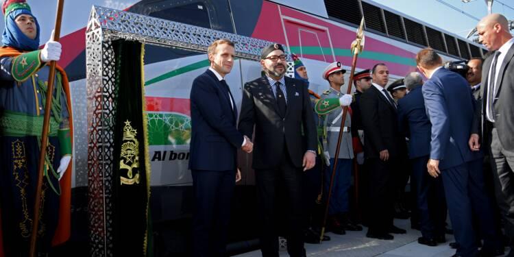 Macron et le roi Mohammed VI inaugurent la première ligne à grande vitesse marocaine