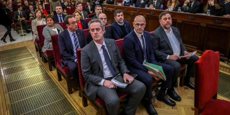 Espagne : début du procès historique des dirigeants indépendantistes catalans