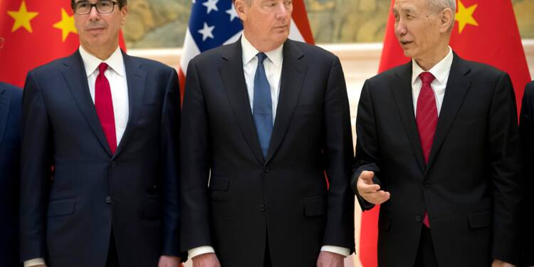 """Guerre commerciale: réunions """"productives"""" avec la Chine, selon les Etats-Unis"""