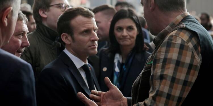 Au salon de l'Agriculture, la déambulation tous azimuts d'Emmanuel Macron