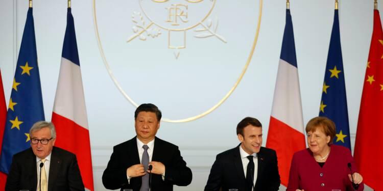 """Paris et Pékin en faveur d'un """"accord global"""" UE-Chine sur les investissements"""