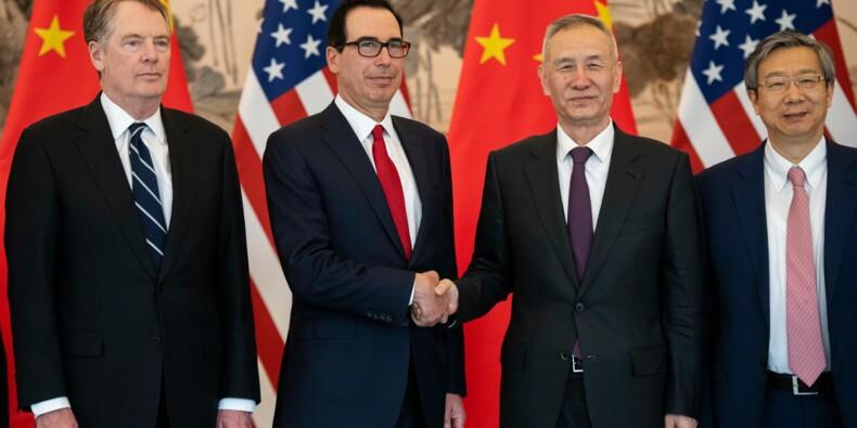 """Les négociations avec la Chine """"se passent très bien"""", assure Trump"""