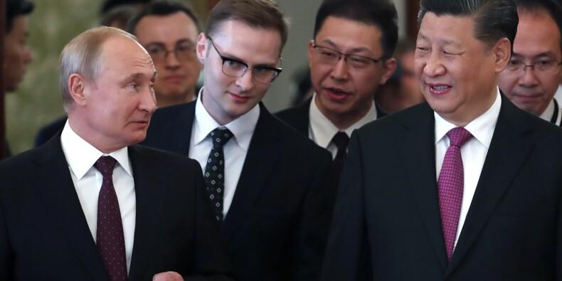 """Xi soigne l'entente russo-chinoise avec son """"meilleur ami"""" Poutine"""
