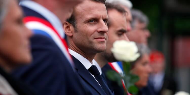 Jour J: Macron rend hommage à la Résistance