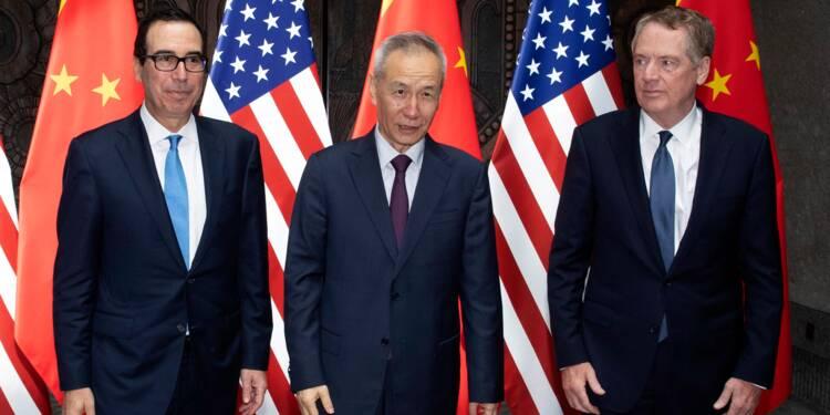 """Commerce Chine-USA: pourparlers """"constructifs"""", rendez-vous en septembre"""