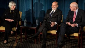 Les anciens patrons de la Fed demandent à Trump de respecter son indépendance