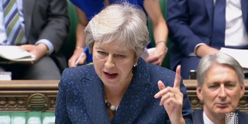 Brexit: pour Theresa May, ce sera son plan sinon rien