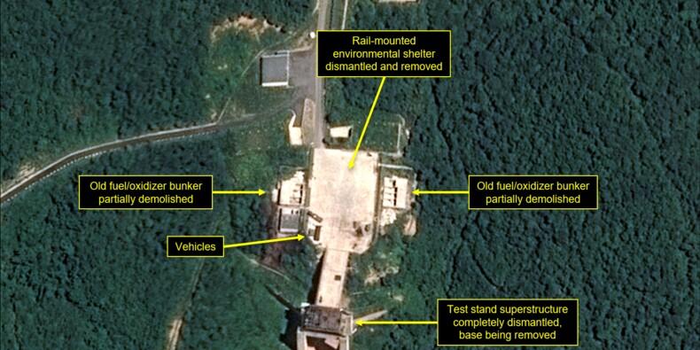 La Corée du Nord commence à démanteler son site de tirs de satellites