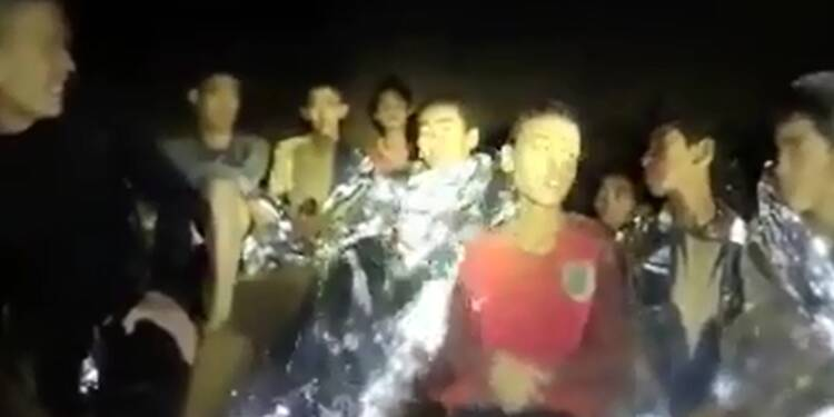 Grotte en Thaïlande: l'évacuation toujours en suspens