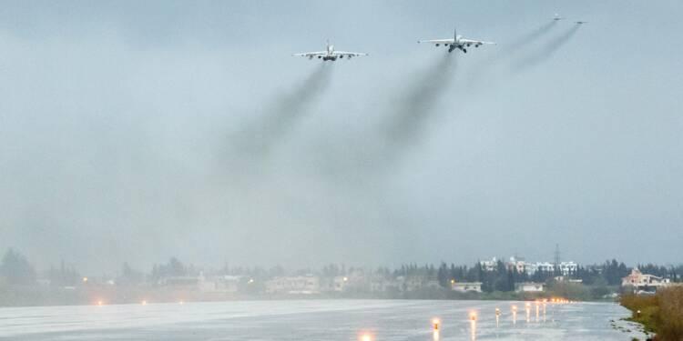 Un avion russe avec 14 militaires à bord disparait des radars en Syrie