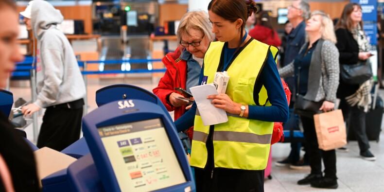 La grève SAS immobilise 72.000 passagers