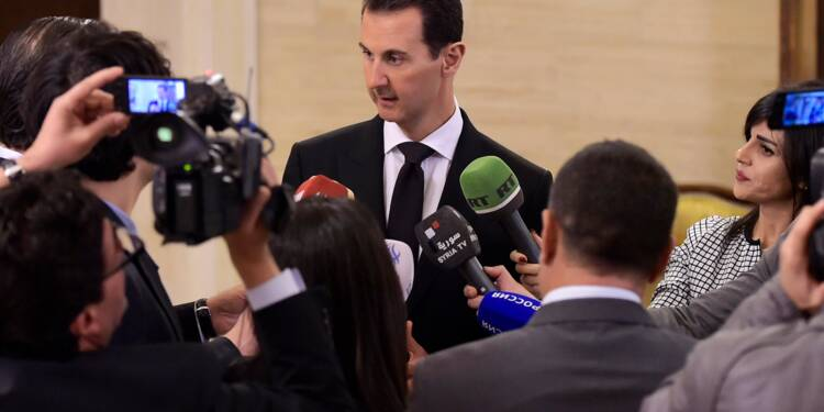 """Syrie: Macron juge """"inacceptables"""" les critiques d'Assad contre la France"""