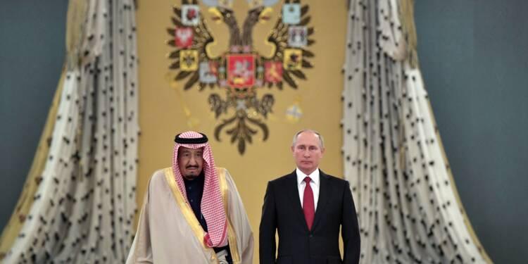 Poutine et le roi Salmane scellent leur rapprochement avec des accords commerciaux