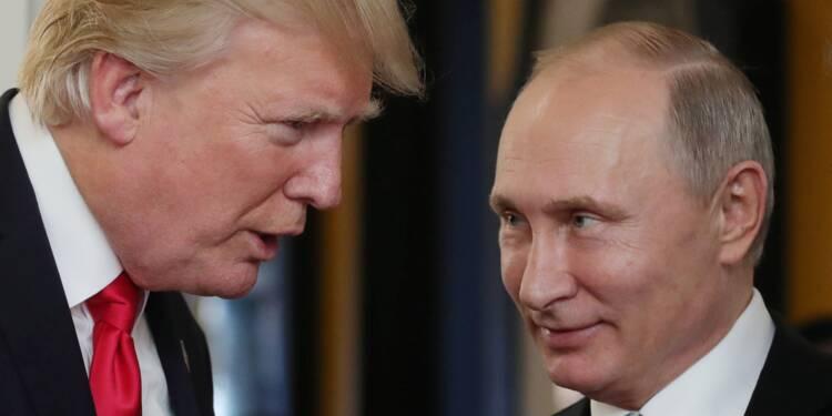 Poutine remercie Trump pour l'aide américaine contre un attentat déjoué en Russie