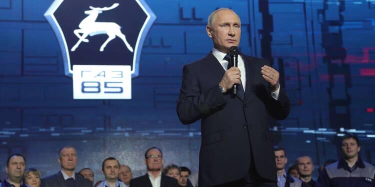 Vladimir Poutine candidat pour un 4ème mandat en 2018