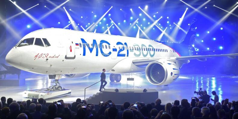 MC-21, le concurrent russe d'Airbus et de Boeing, victime des sanctions américaines