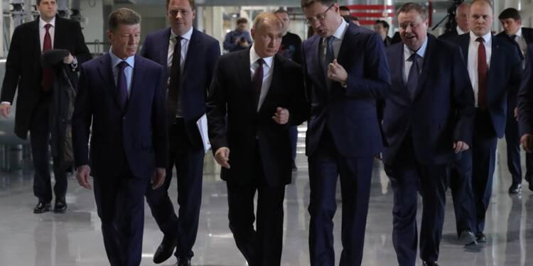 """Cinq ans après l'annexion, Poutine vante la """"sécurité énergétique"""" apportée à la Crimée"""
