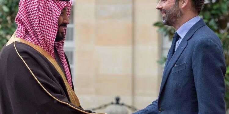 Le prince héritier saoudien en visite diplomatique et culturelle à Paris