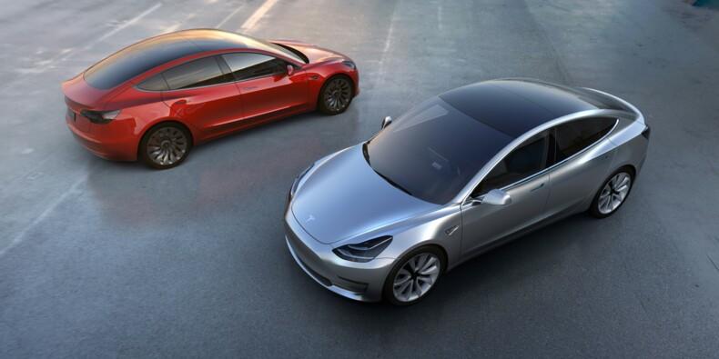 """Tesla: premières livraisons du """"Model 3"""" fin juillet"""