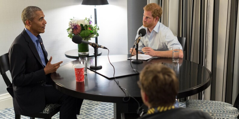 Obama, interviewé par le prince Harry, met en garde contre les réseaux sociaux