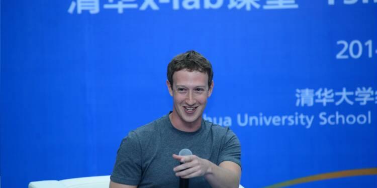 Facebook gonfle ses effectifs en Chine, même s'il reste banni de l'internet local