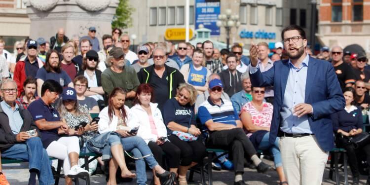 Suède: l'extrême droite vers un score historique aux législatives