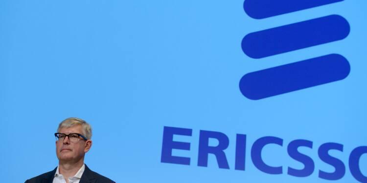 Ericsson dévisse en Bourse après une nouvelle perte trimestrielle
